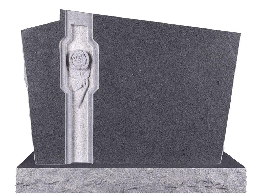 Granít legsteinar - H-235-DG
